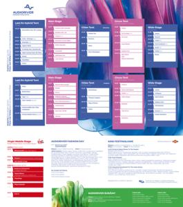Audioriver 2015 - timetable